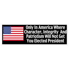 Character & Integrity Bumper Sticker (50 pk)