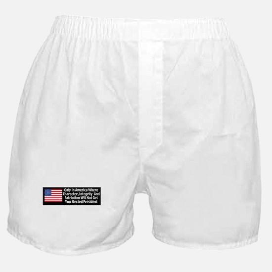Character & Integrity Boxer Shorts