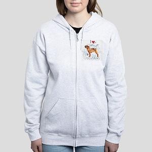 Shar-Pei Women's Zip Hoodie