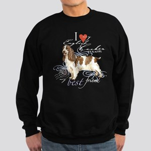 English Cocker Spaniel Sweatshirt (dark)