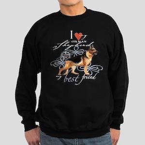 German Shepherd Sweatshirt (dark)