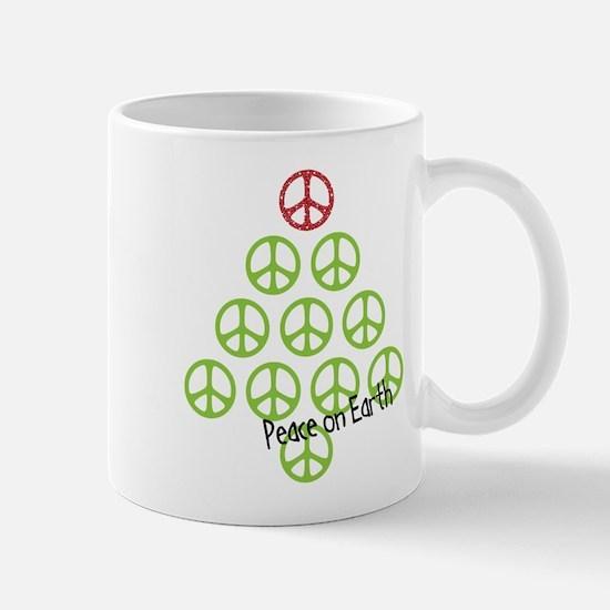 Unique Peace christmas Mug