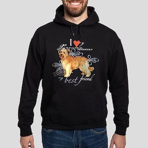 Pyrenean Shepherd Hoodie (dark)
