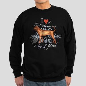 Redbone Coonhound Sweatshirt (dark)