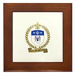 PRIEUR Family Crest Framed Tile