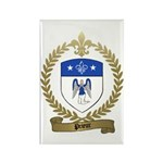 PRIEUR Family Crest Rectangle Magnet (100 pack)