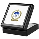 PRIEUR Family Crest Keepsake Box