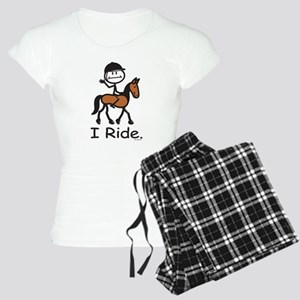 English Horse Riding Stick Women's Light Pajamas