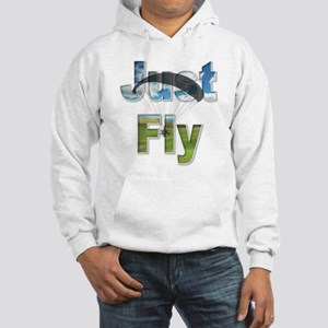 Just Fly Powered Paragliding Hooded Sweatshirt