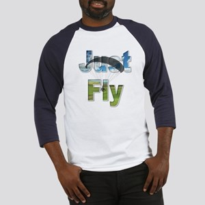 Just Fly Powered Paragliding Baseball Jersey