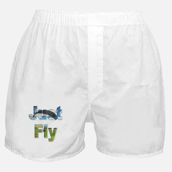 Just Fly Powered Paragliding Boxer Shorts