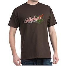 Mistletoe = Festive, not Gay! Dark T-Shirt