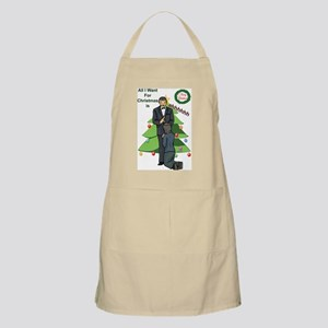 Xmas Wishes BBQ Apron