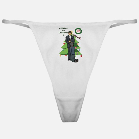 Xmas Wishes Classic Thong