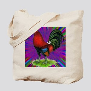 Colorful Gamecock Tote Bag