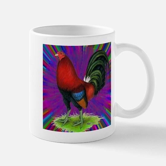 Colorful Gamecock Mug