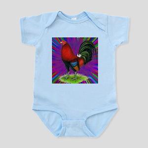 Colorful Gamecock Infant Bodysuit