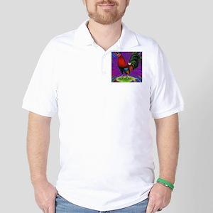 Colorful Gamecock Golf Shirt