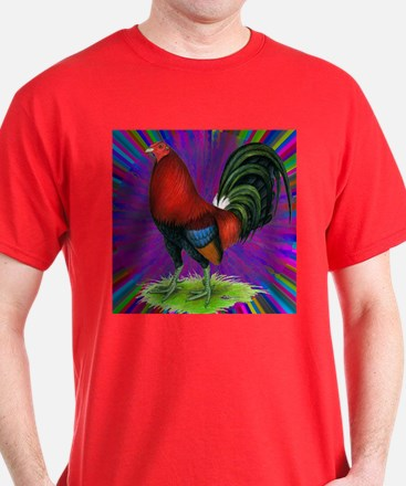 Colorful Gamecock T-Shirt