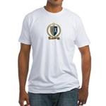 POITIERS Family Crest Fitted T-Shirt