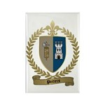 POITIERS Family Crest Rectangle Magnet