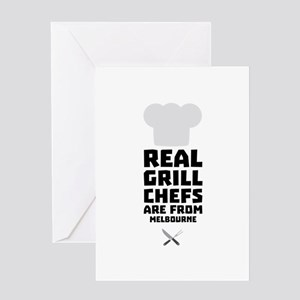 Real Grill Chefs are from Melbourne Greeting Cards