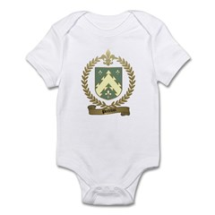 POITEVIN Family Crest Infant Creeper