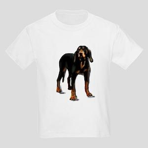 black and tan hound Kids Light T-Shirt