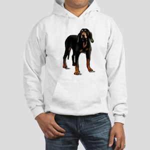 black and tan hound Hooded Sweatshirt