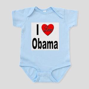I Love Obama Infant Creeper
