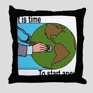 As the world Rots Throw Pillow