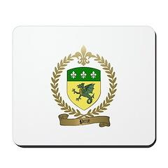 PITRE Family Crest Mousepad