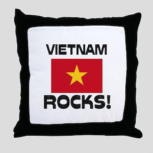 Vietnam Rocks! Throw Pillow