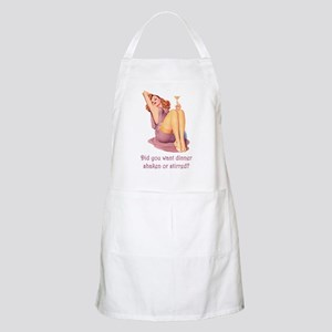 SHAKEN OR STIRRED BBQ Apron