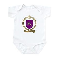 PINET Family Crest Infant Creeper