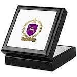 PINET Family Crest Keepsake Box