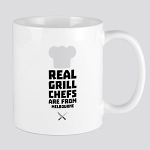 Real Grill Chefs are from Melbourne Cwc41 Mugs
