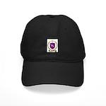 PINETTE Family Crest Black Cap