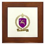 PINETTE Family Crest Framed Tile