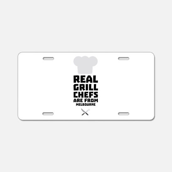 Real Grill Chefs are from M Aluminum License Plate