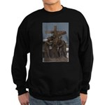 Carrying cross Sweatshirt (dark)