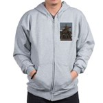 Carrying cross Zip Hoodie