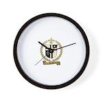 PILOTTE Family Crest Wall Clock
