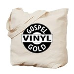 Gospel Vinyl Gold Tote Bag