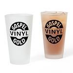 Gospel Vinyl Gold Drinking Glass