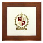PICOT Family Crest Framed Tile