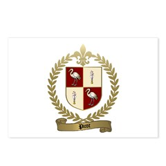 PICOT Family Crest Postcards (Package of 8)