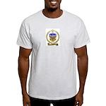 PICHOT Family Crest Ash Grey T-Shirt