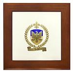 PICHOT Family Crest Framed Tile
