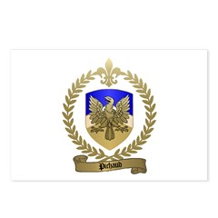 PICHAUD Family Crest Postcards (Package of 8)